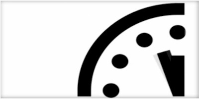 Doomsday Clock Near Midnight